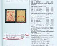 FIUME / CROATIA / ITALY 1919. - SIGNED ERROR on ˝A˝paper type -Sassone A35o ?