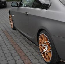 pour BMW E92 E93 M bas de caisse latéraux style de performance Lame Seuil housse