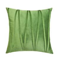 Soft Velvet Striped Decorative Pillows Throw Pillow Cover Cases Home Sofa Seat.