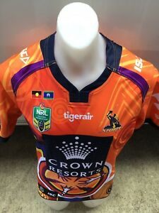 Cam Smith #9 Melbourne Storm Player Issue Indigenous Jersey  qld origin 2017