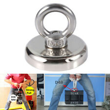 RECOVERY MAGNET HOOK STRONG SEA FISHING DIVING TREASURE HUNTING FLYING RING ORNA
