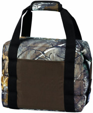 """13"""" Real Tree 16 Can Insulated Lunch Bag Cooler, camo design weather resistant"""