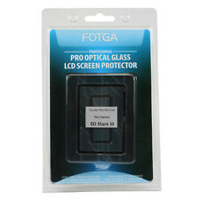 FOTGA Optical Glass LCD Screen Protector For Canon 5D Mark III 5D3 Main+Info LCD