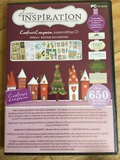 Crafters Inspiration Issue 8 Winter 2015 Craft Cd Crafters Companion With Dvd