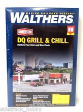 HO Scale Walthers Cornerstone 933-3485 Dairy Queen Grill & Chill Building Kit