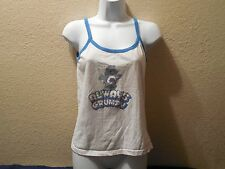 Care Bears Always Grumpy Tank Top T-Shirt Womans Petite Juniors Large