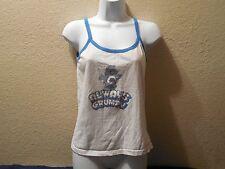 Care Bears Always Grumpy Tank Top T-Shirt Womans Petite Juniors Large