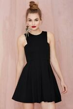 Nasty Gal De Philo Women's Black Ingrid Knit Dress Size M $98 NGK