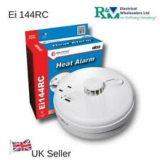 Ei144RC Aico Mains Heat Detector Alarm with Base and Battery Backup