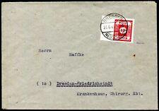 SBZ 41 gestempelt auf BRIEF TADELLOS ATTEST STRÖH BPP (Z8207