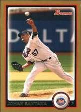 2010 Bowman Gold #120 Johan Santana Mets NM-MT