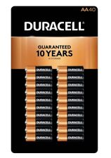DURACELL  AA batteries 40 count COPPERTOP ALKALINE FREE PRIORITY SHIPPING