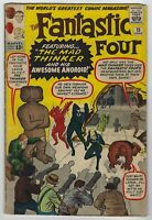 Fantastic Four #15 (1963, Marvel) 1st App Mad Thinker, Stan Lee, Kirby, G/G+