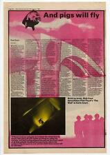 Pink Floyd Earls Court concert review NME Cutting 1980