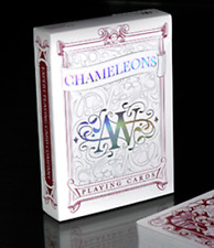 Chameleon Playing Cards (Red) by Expert Playing Cards from Murphy's Magic