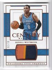 2016-17 Russell Westbrook #1/25 Patch Panini National Treasures Thunder Century