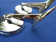 NEW 1965 1966 Chevrolet Impala BelAir Biscayne Chevy Bowtie Side Mirror Pair