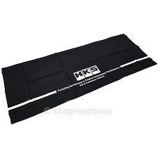 HKS Block Logo Bandanna Handkerchief Scarf Japanese Towel Black 51007-AK204