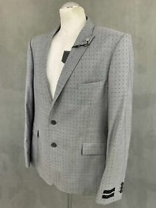"""New TED BAKER ACORNJ Wool & Cotton BLAZER / TAILORED JACKET Size 46R 46"""" Chest"""