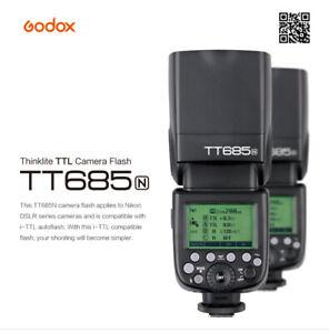 Godox TT685N 2.4G TTL GN60 HSS 1/8000s Wireless Camera Flash Speedlite For Nikon