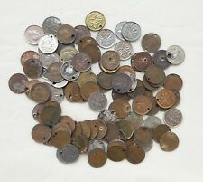 Lot of 100 George VI  Canadian  Small Cents