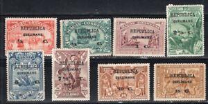 QUELIMANE PORTUGAL 1913 STAMP Sc. #  1/8 MH