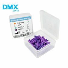 100 Pcs Dental Fixing Wooden Wedges For Restoration Dmx Dental Ld