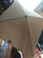 Outdoor parasol taittinger 150x 150 branded new in box. ECO. wooden base.
