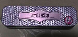 Hard Candy Metallic Mousse Matte Lip Color w Tin Smoke & Mirrors 1195 22 oz New!
