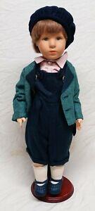 Käthe Kruse Puppe Moritz ca 53cm sehr schön erhalten selten mit Beingelenken