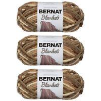 Bernat Blanket Yarn (150G/503 OZ) Sonoma - 3 Pack
