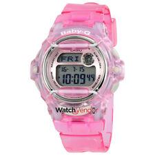 Casio Baby G Pink Resin Digital Ladies Watch BG169R-4