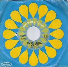 THE HOLLIES  He Ain't Heavy He's My Brother / Carrie-Anne 45