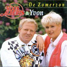 KOOS ALBERTS & YVON - De zomerzon 2TR CDS 1996 DUTCH / SCHLAGER
