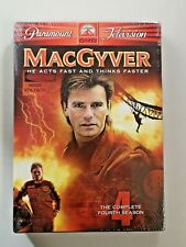MacGyver - The Complete Fourth Season (Dvd, 2005, 5-Disc Set) Brand New Sealed