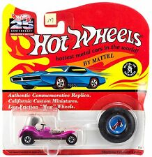 Hot Wheels 25th Anniversary Red Baron Metallic Lavender Pink Series M MOC 1993