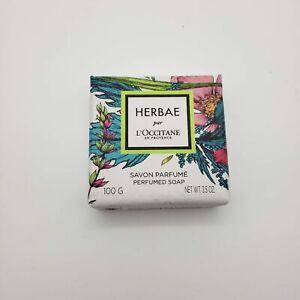 Herbae Par L'occitane Perfumed Soap Bar   100g   NEW