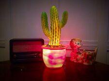 Heico Cactus De La Lámpara, Lámpara de estilo retro, vintage