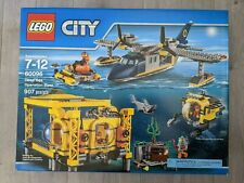 LEGO City 60096 Deep Sea Operation Base - NEW, SEALED, RETIRED - FREE SHIPPING