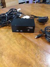 StarTech.com (Sv231Dd2Dua) 2-Ports Kvm / audio / Usb switch dual Dvi monitor