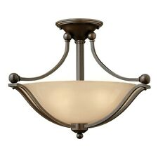 Hinkley Lighting Bolla 2 Light Foyer Semi-Flush Mount, Olde Bronze - 4651OB