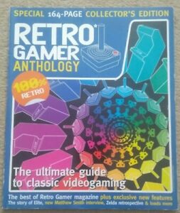 RETRO GAMER ANTHOLOGY - SPECIAL 164-PAGE COLLECTORS EDITION MAGAZINE 2004