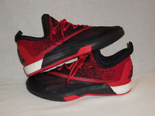 best service 74c3a b3a6b Adidas Mens SM On Court Crazylight Boost 2 BlackScarletBlack -MENS 14