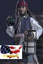 1/6 WWII LED Metal Oil Lamp Barn Lantern Pirates of the Caribbean hot toys❶USA❶