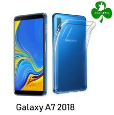 For Samsung Galaxy A7 2018 Case Cover Crystal Clear Gel Silicone Protective Case