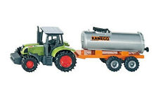 SIKU 1642 BLISTER PACK CLAAS 697 ATZ Tractor Kaweco Vacuum Tanker Diecast Model