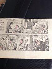 K1-1 Ephemera 1950s Comic Strip Rex Morgan M D