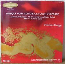 CELEDONIO ROMERO - MUSIQUE POUR GUITARE A LA COUR D'ESPAGNE -  LP