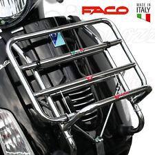 PORTAPACCHI PORTABAGAGLI CROMATO ANTERIORE VESPA GTS 125 250 300 IE