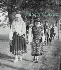 Queen Marie Queen Of Romania Princess Ghika Visit Bukovina 1924 Photo Article
